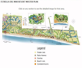 Estrella Del Mar Resort Map Layout