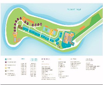Excellence Oyster Bay Resort Map Layout