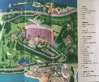 Fairmont Southampton Resort Map Layout