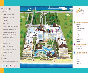 Fiesta Americana Condesa Resort Map Layout