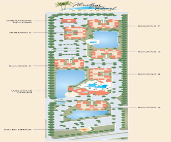Floridays Resort Orlando Map Layout