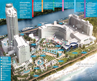 Fontainebleau Miami Beach Map Layout