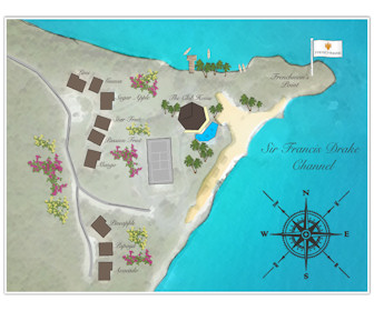 Frenchmans Resort Map Layout