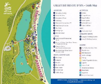Galley Bay Resort Map Layout