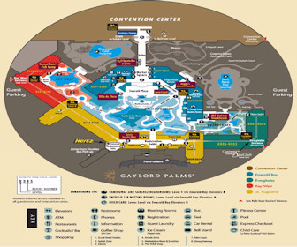 Gaylord Palms Resort Map Layout