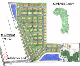 Glenbrook Resort Map Layout