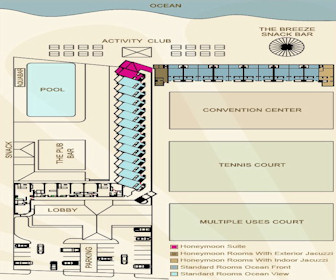 Crown Paradise Golden Resort Resort Map Layout