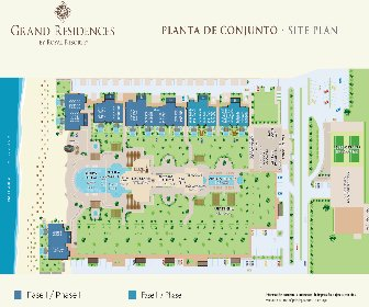 Grand Residences by Royal Resorts Map Layout
