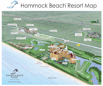 Hammock Beach Resort Map Layout