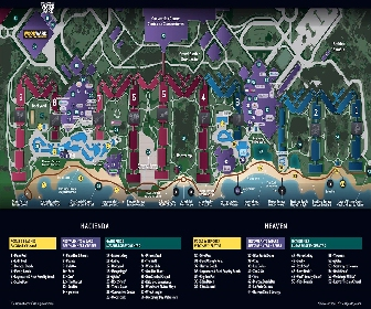 Hard Rock Hotel Riviera Maya Resort Map Layout
