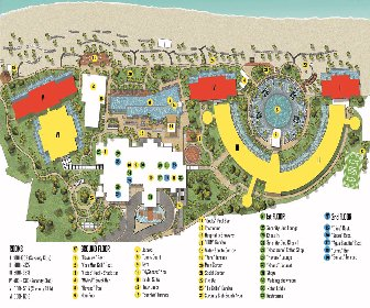 Haven Riviera Cancun resort map Layout