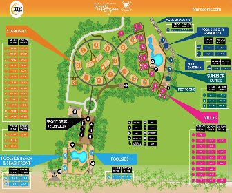 Henry Morgan Resort Map Layout