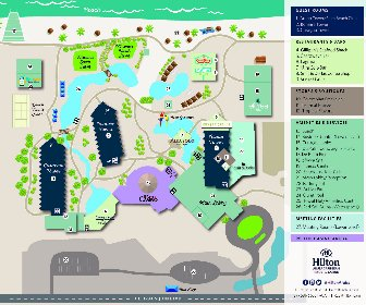 Hilton Aruba Caribbean Resort Map Layout