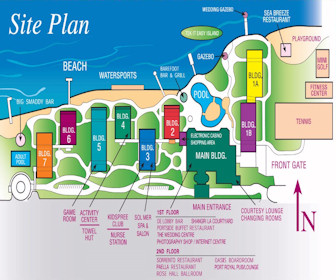 Holiday Inn Resort Montego Bay Map Layout