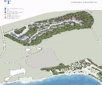 Hotel Le Toiny Resort Map Layout