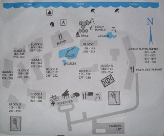 Be Live Adults Only Los Cactus Resort Map Layout