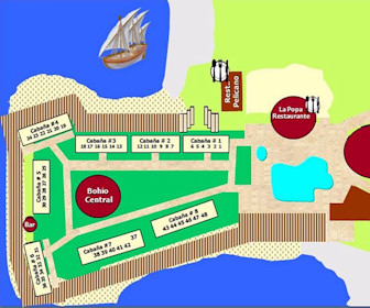 Hotel Punta Galeon Resort Map Layout