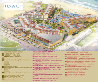 Hyatt Ziva Los Cabos Resort Map Layout