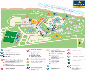 Iberostar Cancun Resort Map Layout