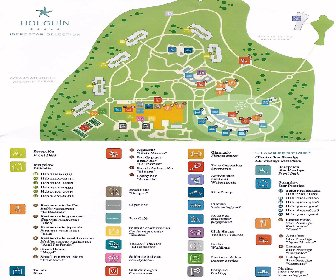 Iberostar Holguin Resort Map layout