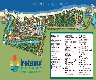 Irotama Resort Resort Map Layout