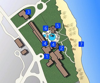 Hotel Isla Del Sur Resort Map Layout
