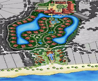 JW Marriott Panama Golf & Beach Resort Map Layout