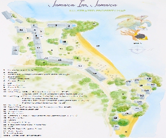 Jamaica Inn Resort Map Layout