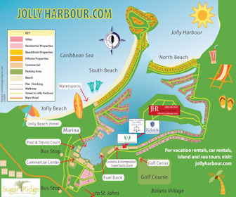 Joly Harbour Villas Resort Map Layout