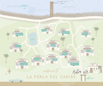 La Perla del Caribe Resort Map Layout