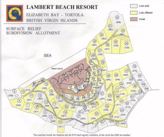 Lambert Beach Resort Map Layout
