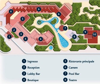 Be Live Experience Las Morlas Resort Map Layout