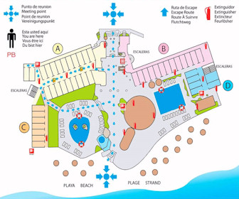 Las Palmas By The Sea Resort Map Layout