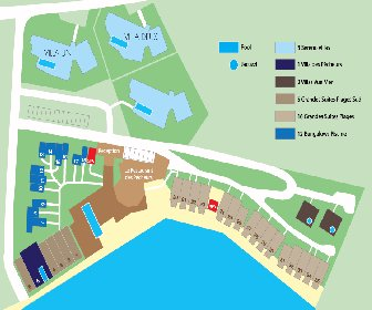 Le Sereno Hotel Resort Map Layout
