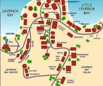Leverick Bay Resort Map Layout