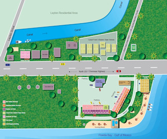 Lime Tree Bay Resort Map Layout
