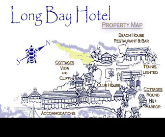 Long Bay Hotel Resort Map Layout