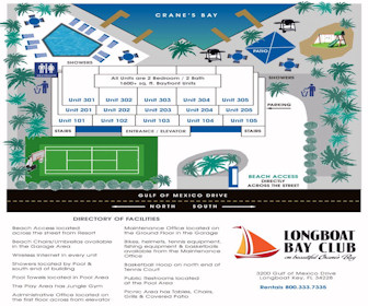 Longboat Bay Club Map Layout