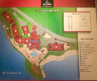 Luxury Bahia Principe Samana Resort Map Layout