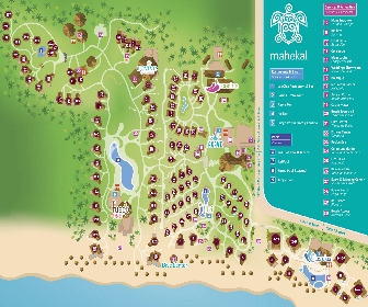 Mahekal Beach Resort Map Layout