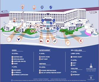 Marquis Los Cabos Resort Map Layout