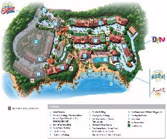 Marriott Frenchman's Cove Resort Map Layout
