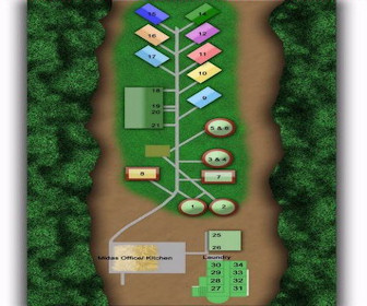 Midas Resort Map Layout
