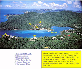 Oasis Marigot Hotel & Villas  Map Layout
