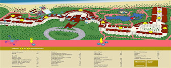 Occidental Caribe Resort Map layout