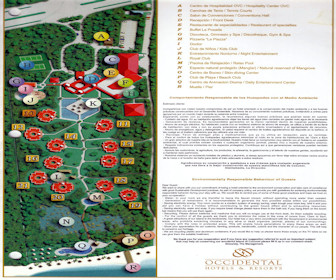 Occidental Grand Cozumel Resort Map layout