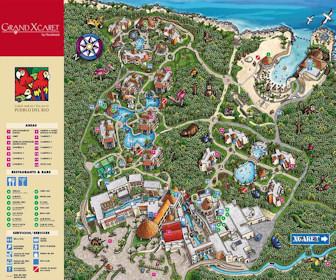 Occidental Grand Xcaret Resort Map Layout
