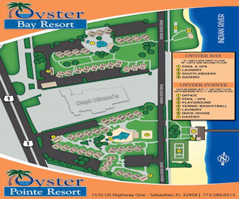 Oyster Bay & Oyster Pointe Resort Map Layout