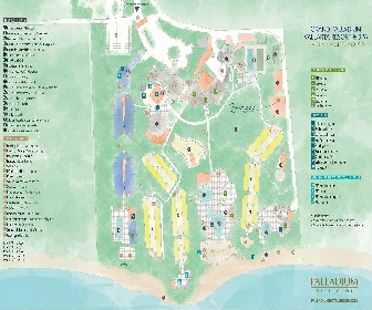 Grand Palladium Vallarta Resort Map Layout