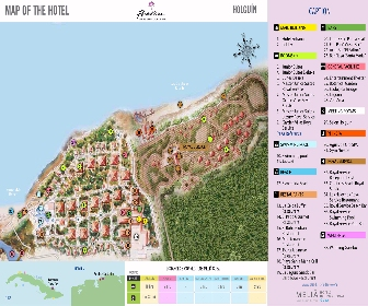 Paradisus Rio De Oro Resort Map layout